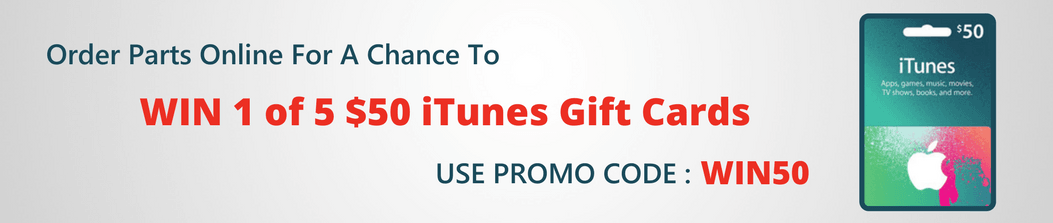 Order to WIN 1 of 5 iTunes Gift Cards
